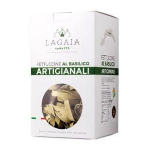 Packaging pasta artigianale al basilico