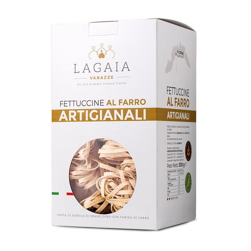 Packaging Fettuccine artigianali al farro