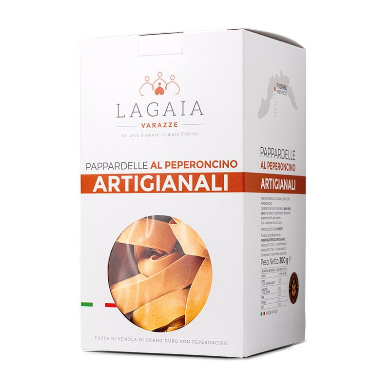 Packaging Pappardelle al Peperoncino